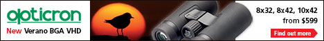 Opticron - New Verano BGA VHD. 8x32, 8x42, 10x42. From $599. Find out more.