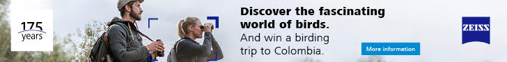 ZEISS. Discover the fascinating world of birds, and win a birding trip to Columbia