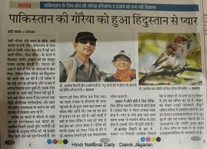 In National Daily ( Hindi ) ...